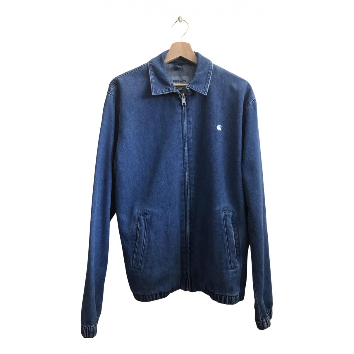 Carhartt \N Jacke in  Blau Denim - Jeans