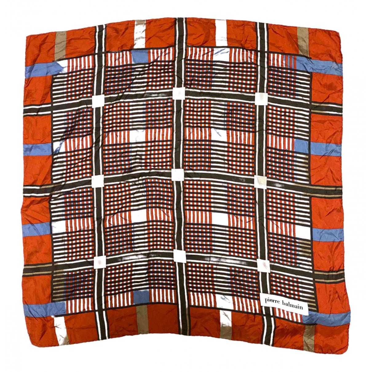 Pierre Balmain - Foulard   pour femme en soie - multicolore