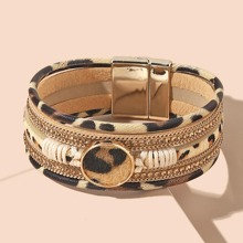 Armband mit Leopard Muster