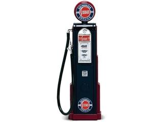 Studebaker Gasoline Vintage Gas Pump Digital 1/18 Diecast Replica by Road Signature