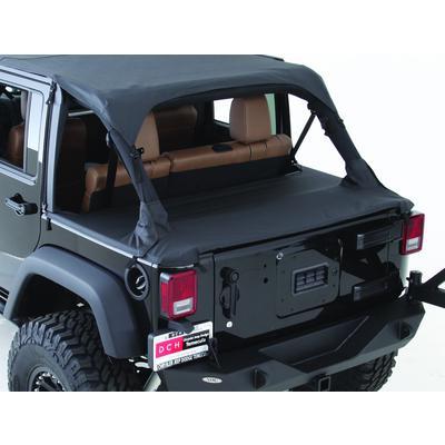 Smittybilt Jeep Tonneau Cover (Black Diamond) - 761135