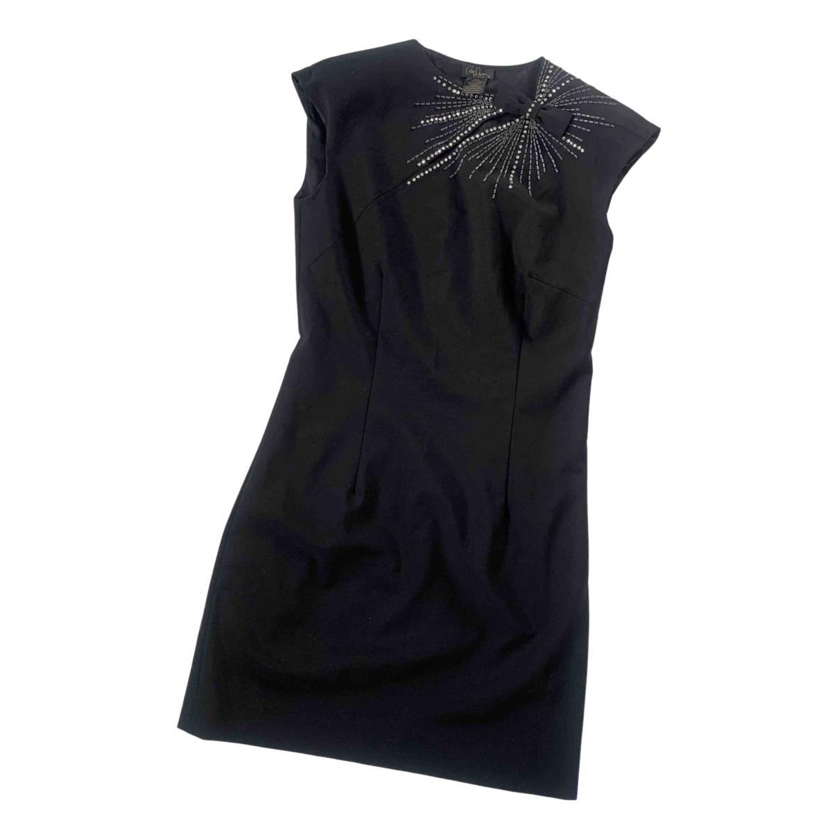 Collette Dinnigan \N Kleid in  Schwarz Wolle