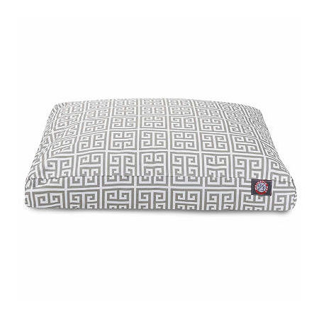 Majestic Pet Towers Rectangle Pet Bed, One Size , Gray