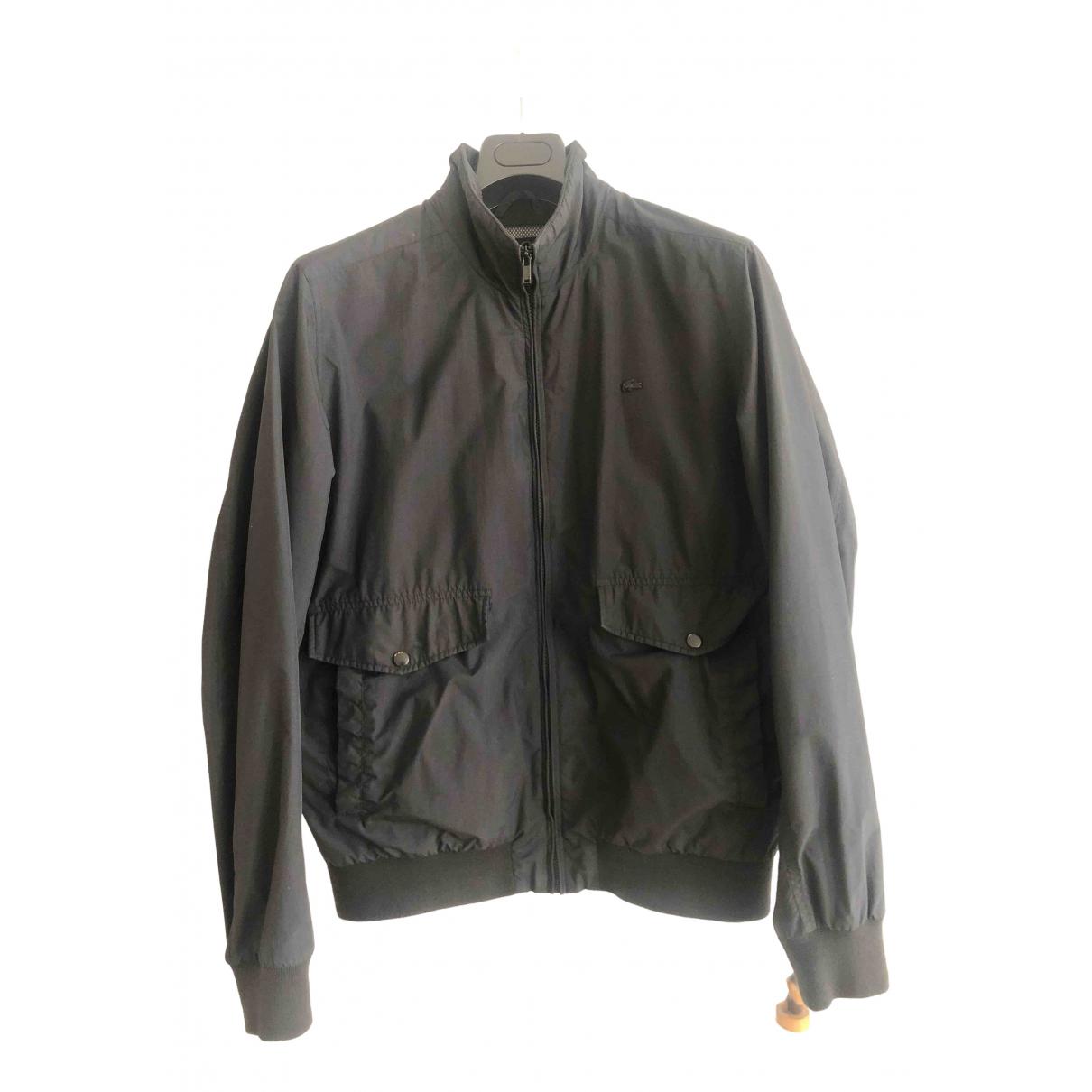 Lacoste \N Black jacket  for Men 52 IT