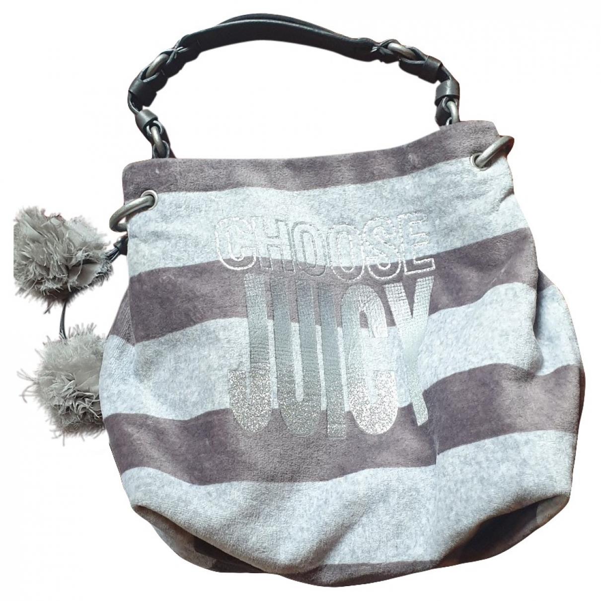 Juicy Couture \N Taschen in  Grau Baumwolle
