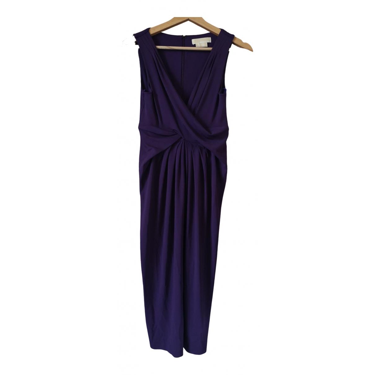 Michael Kors \N Kleid in  Lila Synthetik