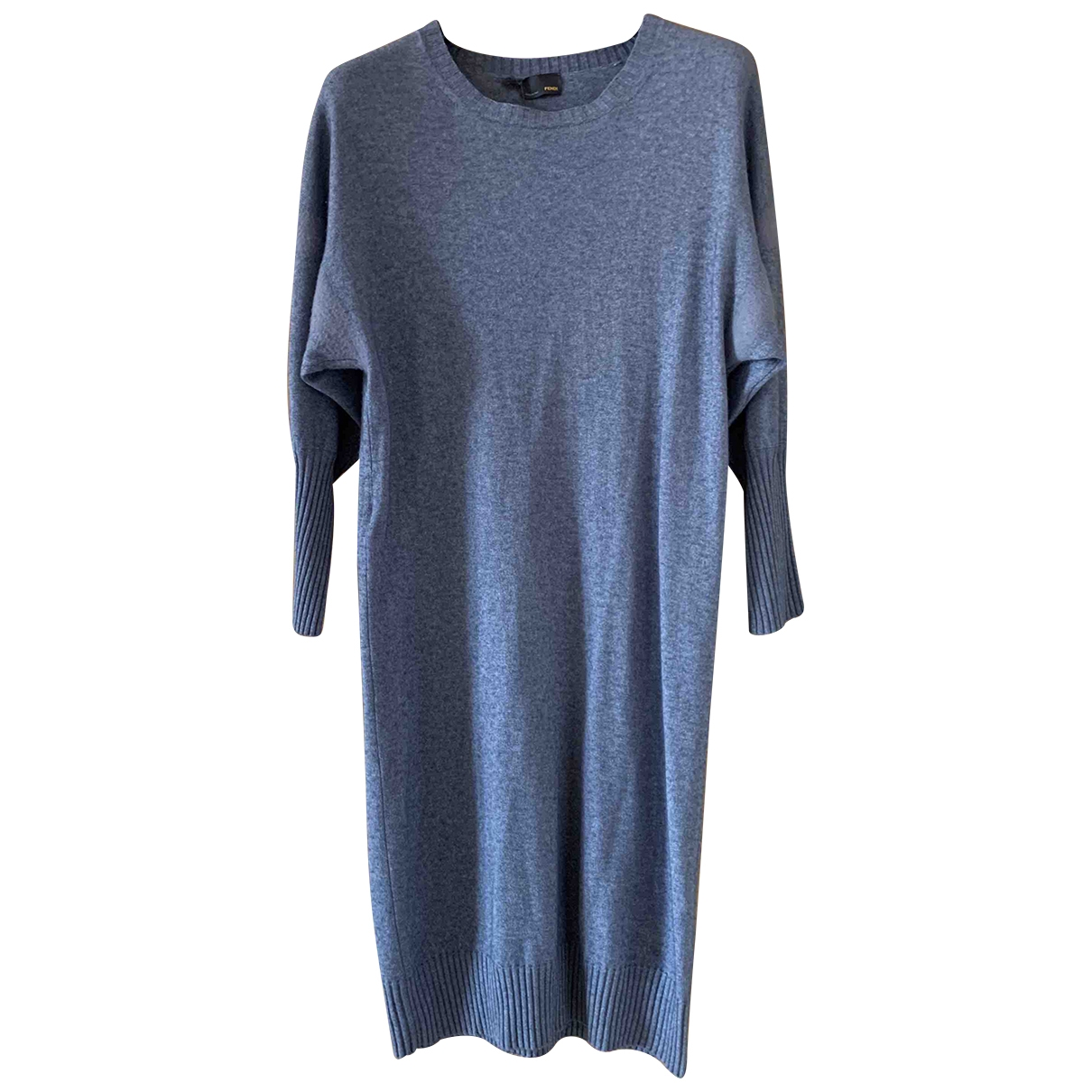 Fendi \N Blue Cashmere dress for Women 36 IT