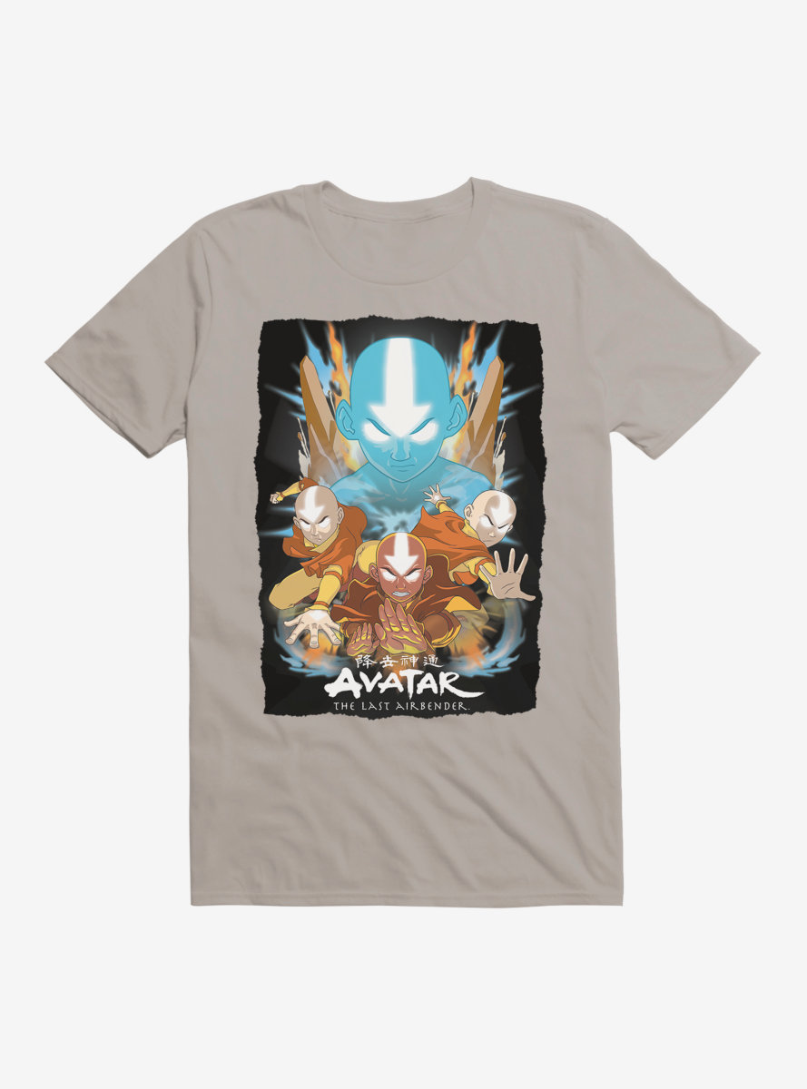 Avatar: The Last Airbender Aang Master Of All Elements T-Shirt