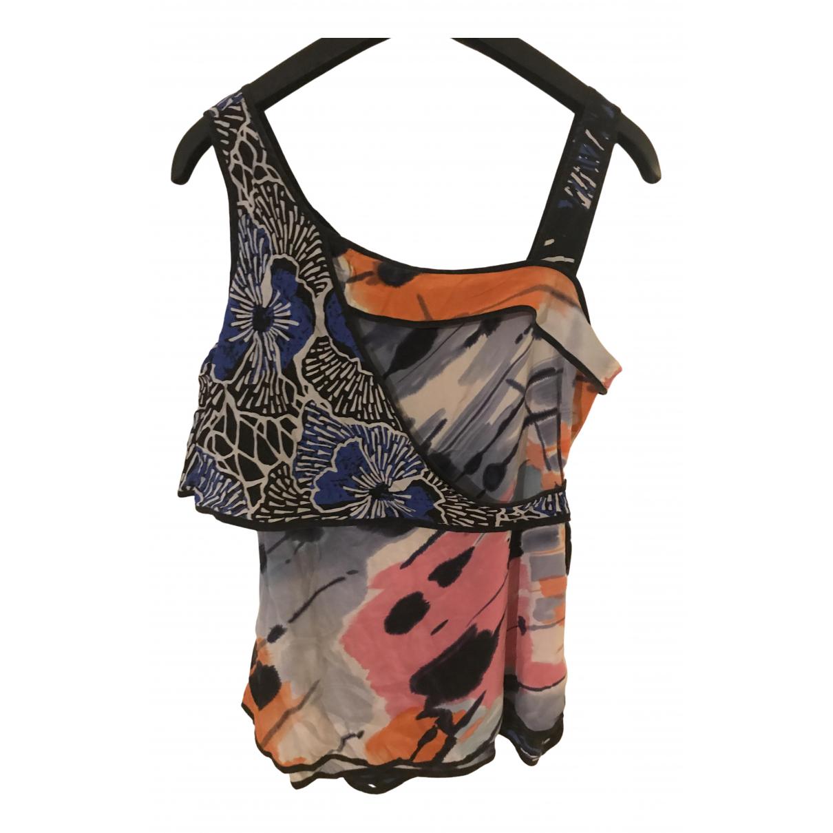 Bcbg Max Azria N Multicolour Silk  top for Women 10 UK