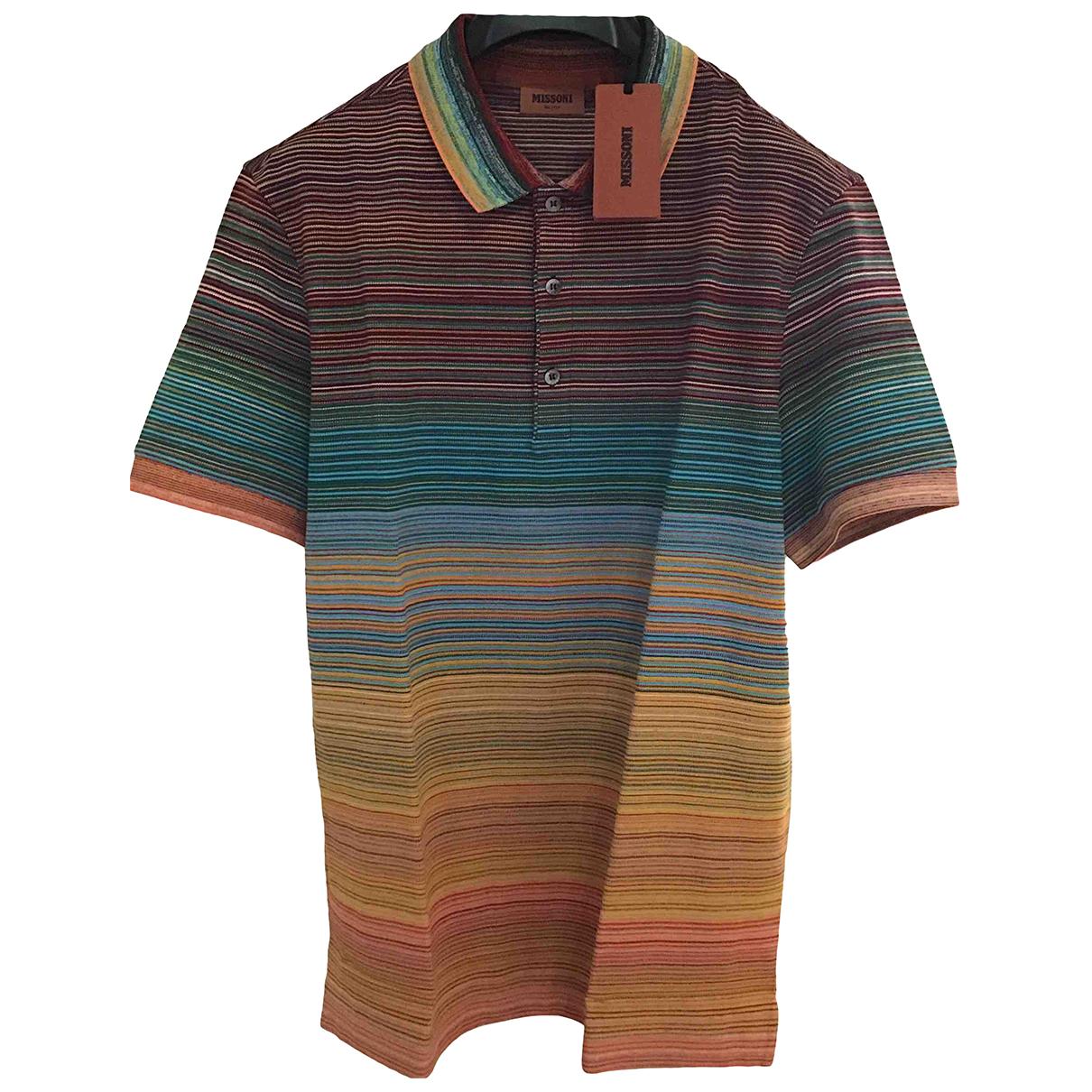 Missoni - Polos   pour homme en coton - multicolore