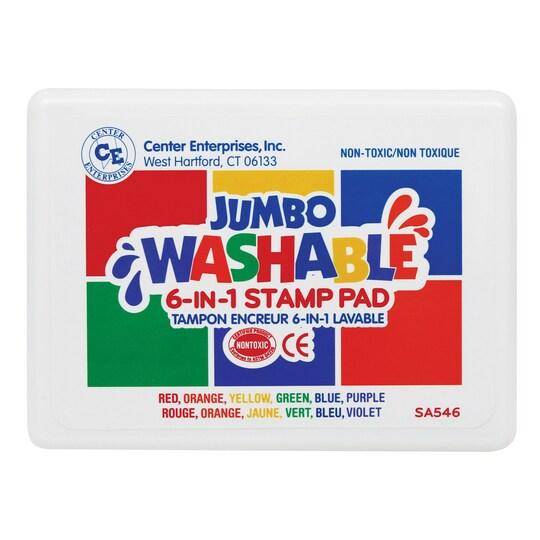 Center Enterprises Jumbo Washable Unscented Stamp Pad | 6.25