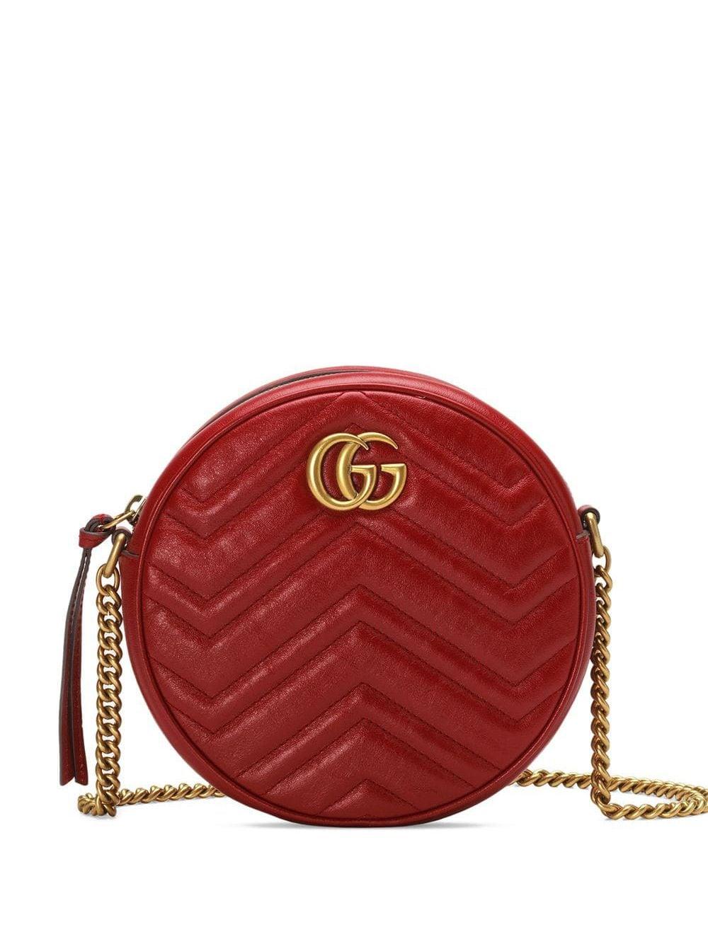 Marmont Mini Leather Shoulder Bag