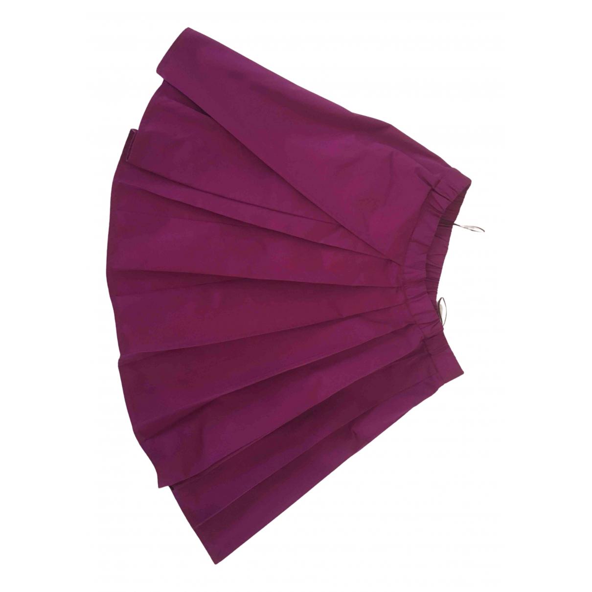 N°21 \N Purple skirt for Women 40 IT