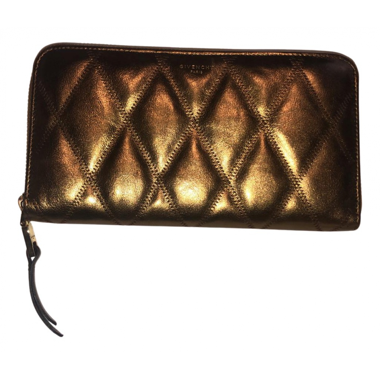Givenchy N Metallic Leather wallet for Women N