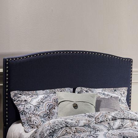 Kirstein Fabric Headboard, One Size , Blue