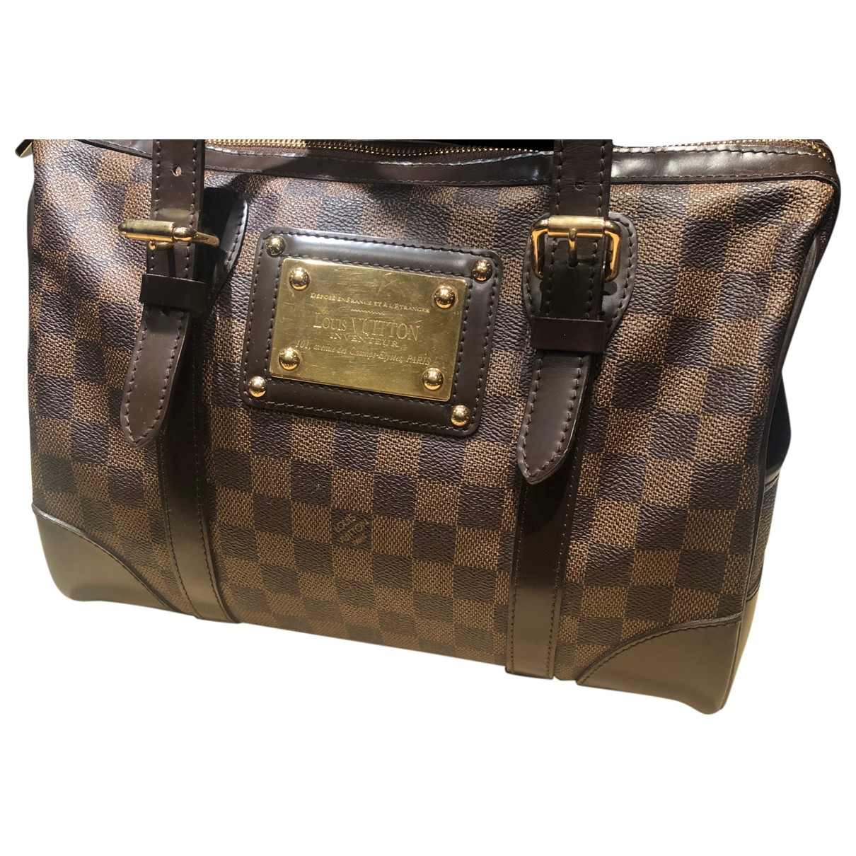 Louis Vuitton Berkeley Brown Cloth handbag for Women \N