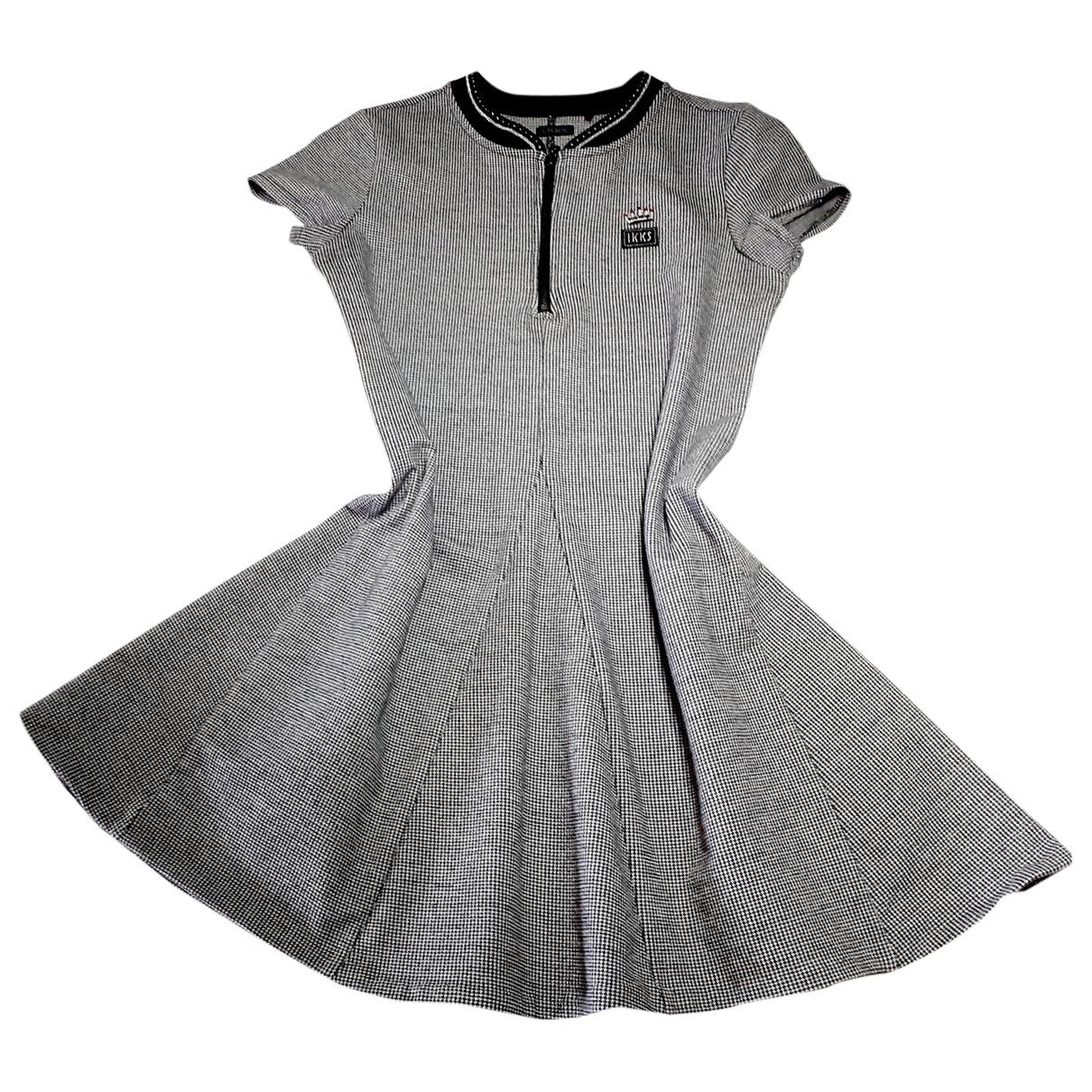 Ikks \N Kleid in Baumwolle - Elasthan