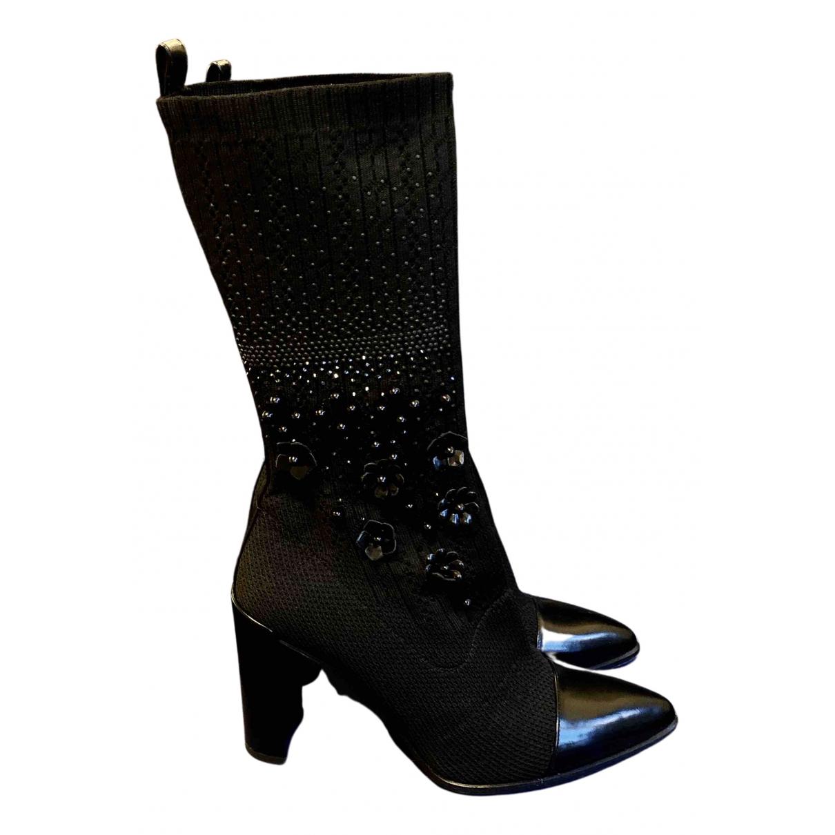 Stuart Weitzman N Black Patent leather Boots for Women 38 EU