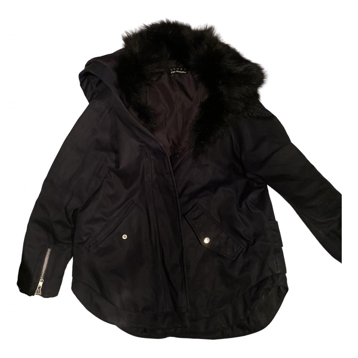 The Kooples N Blue coat for Women 38 FR