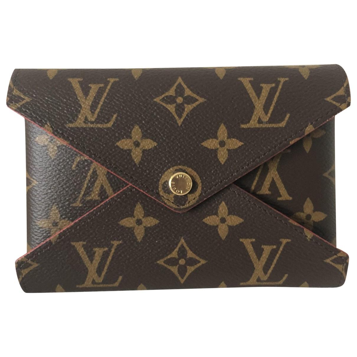 Louis Vuitton - Petite maroquinerie Kirigami pour femme en toile - marron
