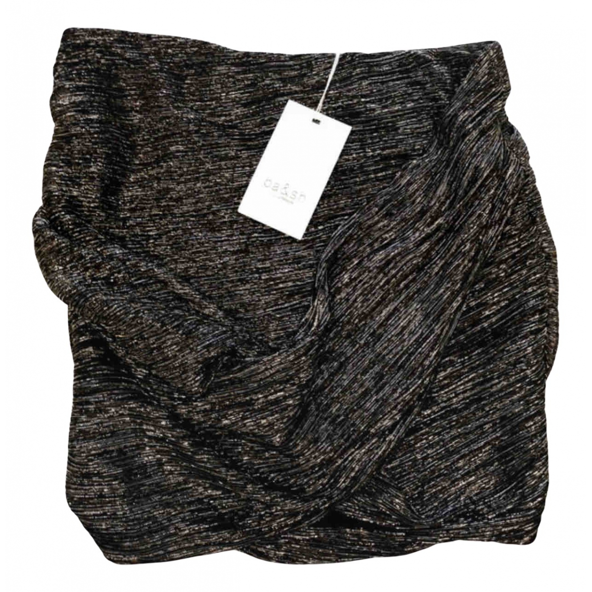 Ba&sh - Jupe   pour femme en coton - elasthane - noir
