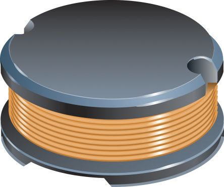 Bourns , SDR0604, SMD Wire-wound SMD Inductor with a Ferrite DR Core, 2.2 μH ±20% Ferrite Core 2.8A Idc Q:33 (100)