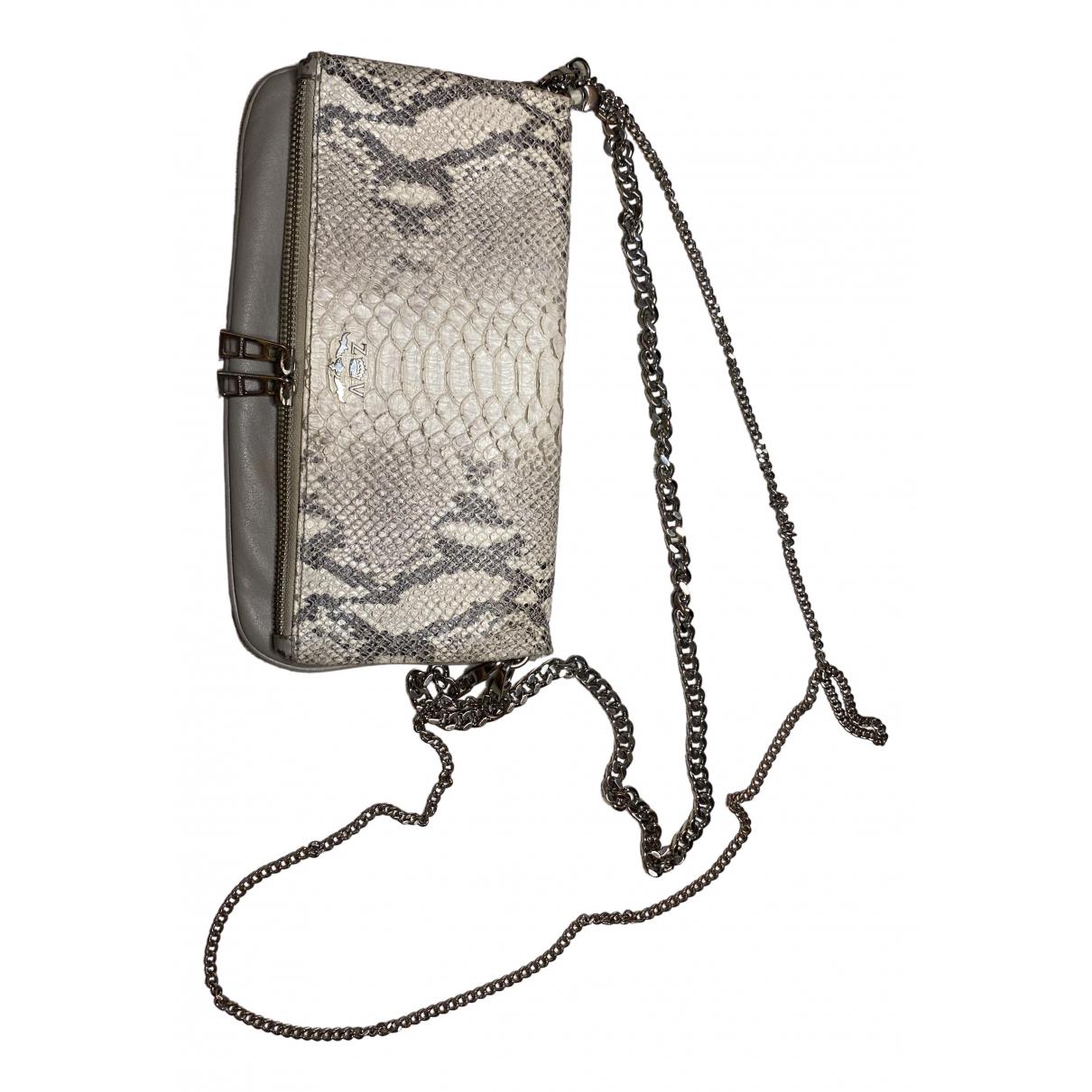 Zadig & Voltaire \N Ecru Leather handbag for Women \N