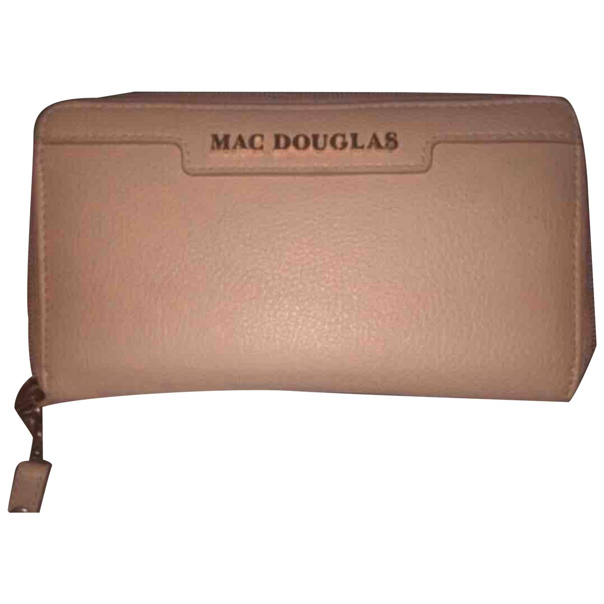 Mac Douglas - Petite maroquinerie   pour femme en cuir - beige