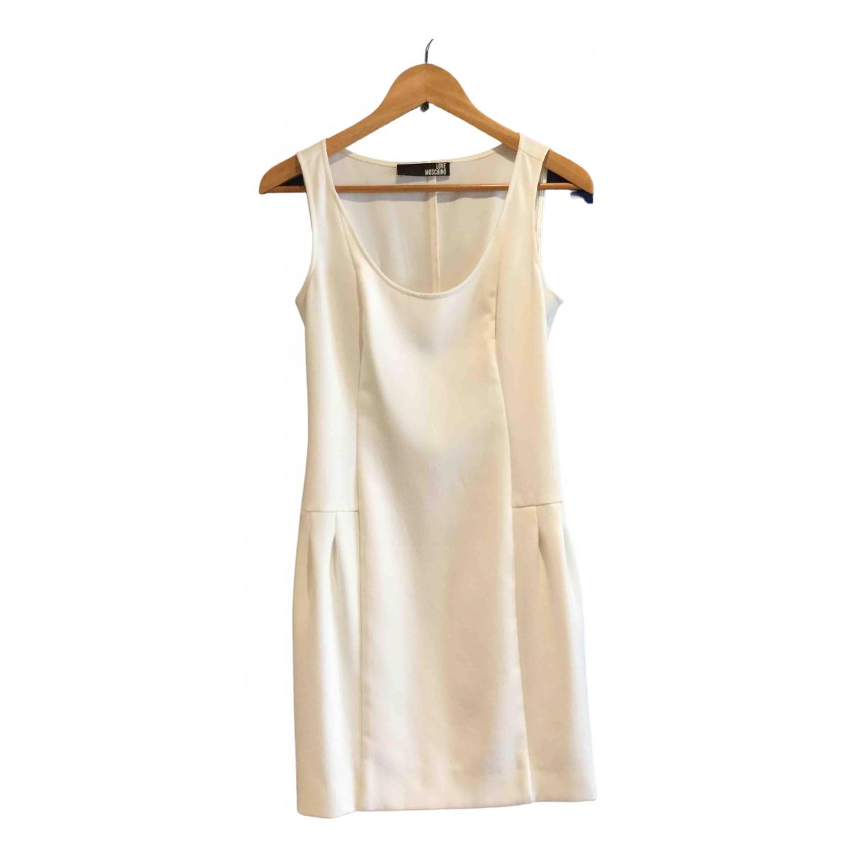 Moschino Love \N White dress for Women 36 FR