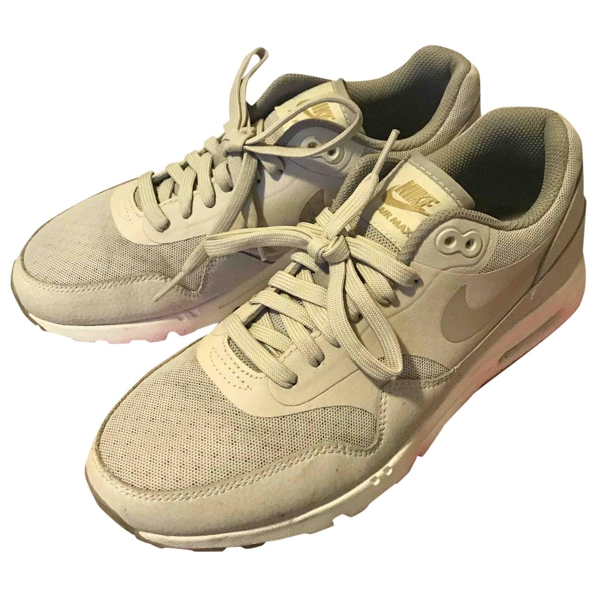 Nike - Baskets Air Max 1 pour femme en toile - gris