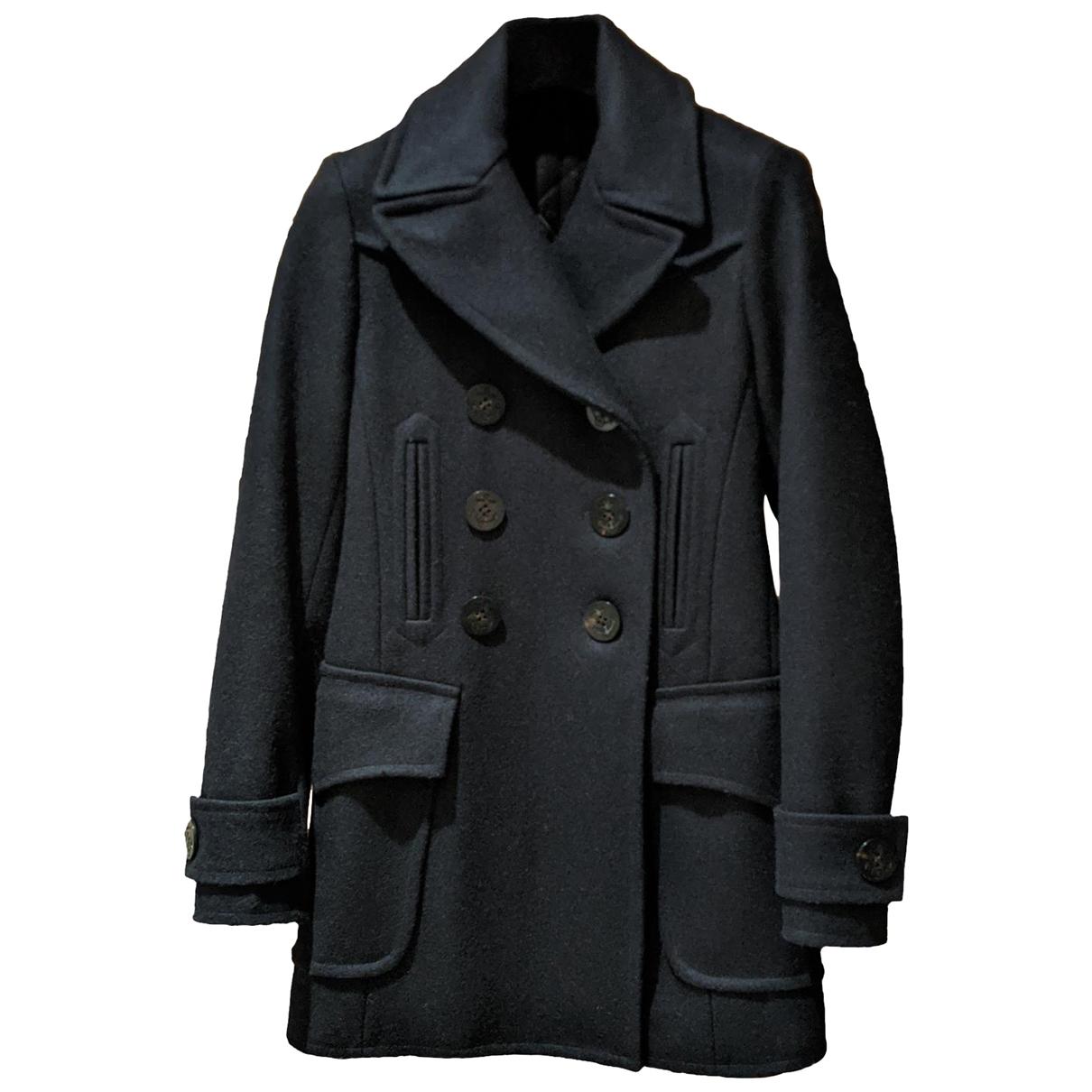 Faith Connexion \N Navy Wool coat for Women 34 FR