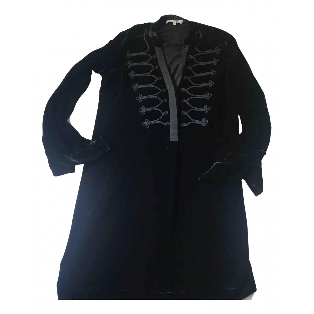 Sandro N Black Velvet dress for Women 1 0-5