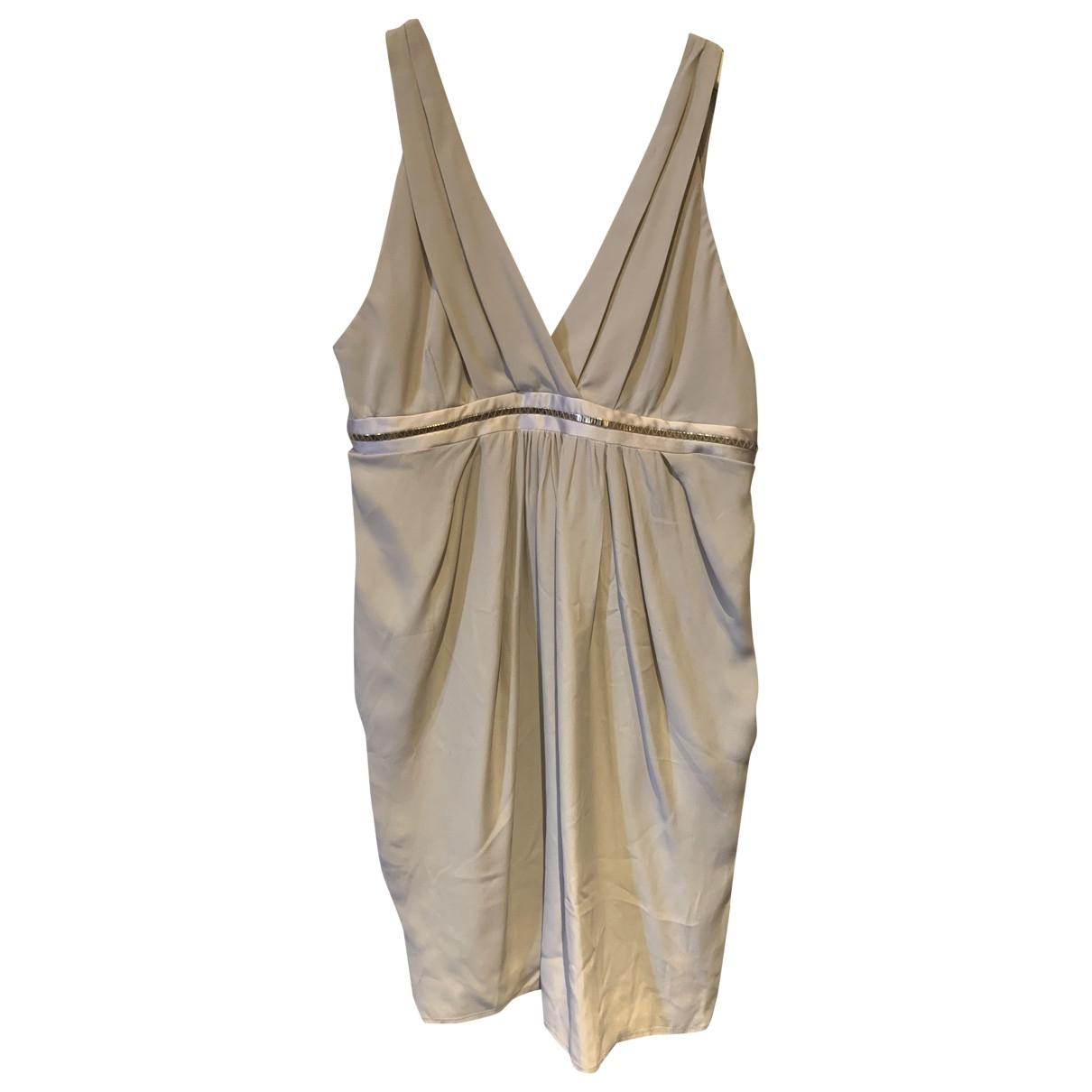 Non Signé / Unsigned \N Pink Silk dress for Women 42 IT