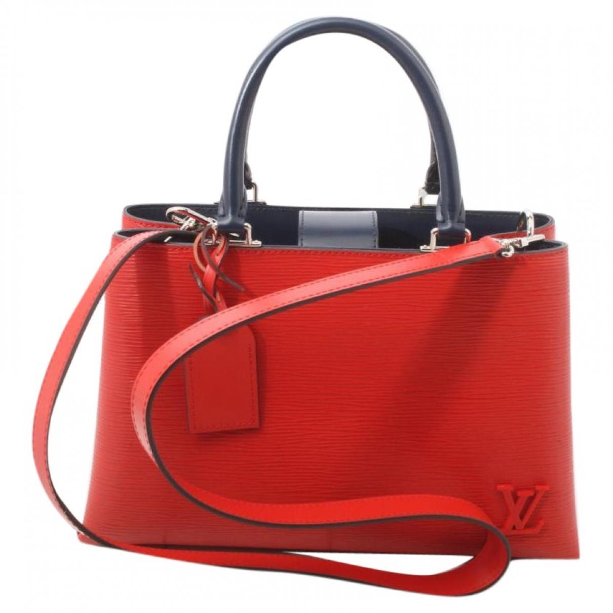 Louis Vuitton Kleber Red Leather handbag for Women \N