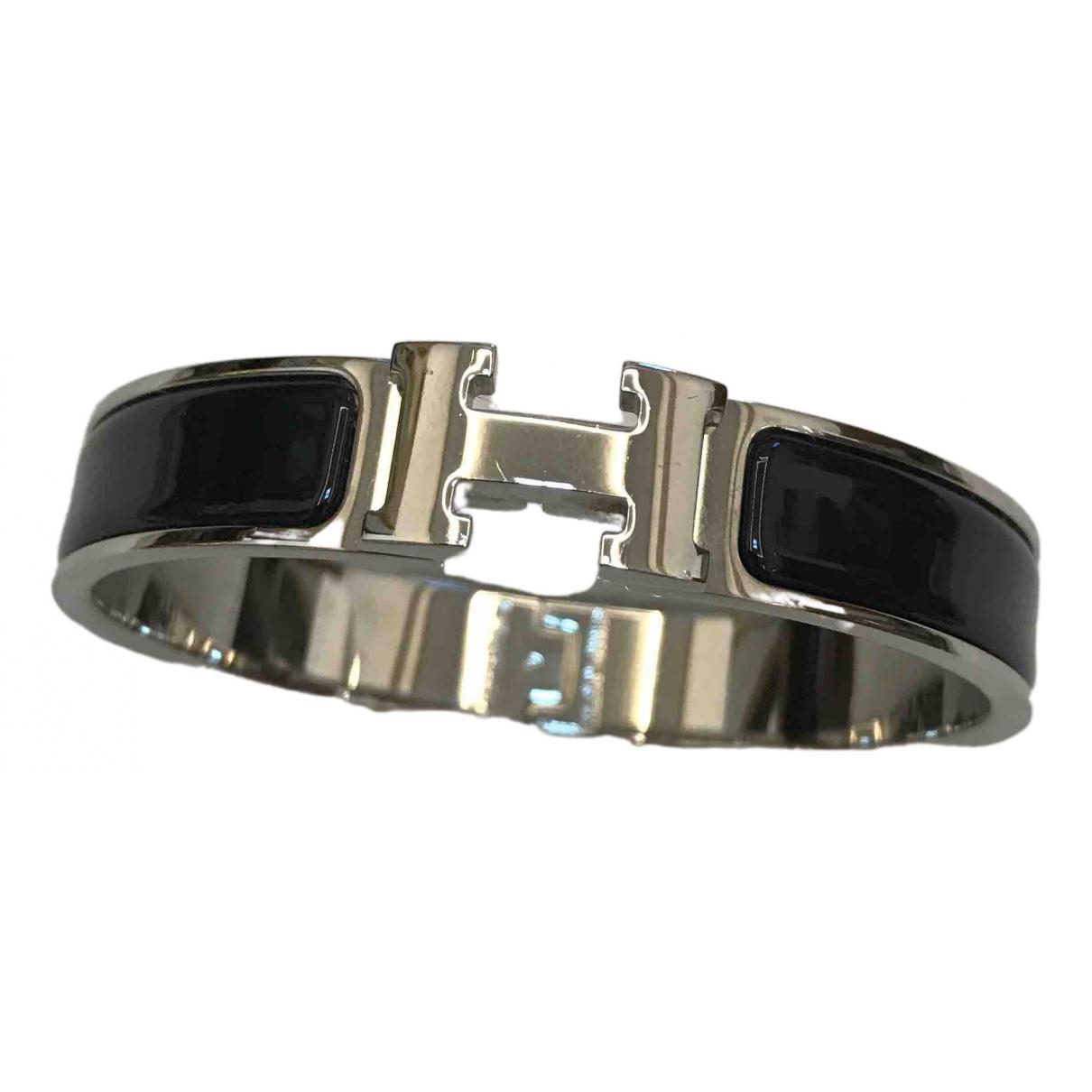 Hermès Clic H Black Metal bracelet for Women \N