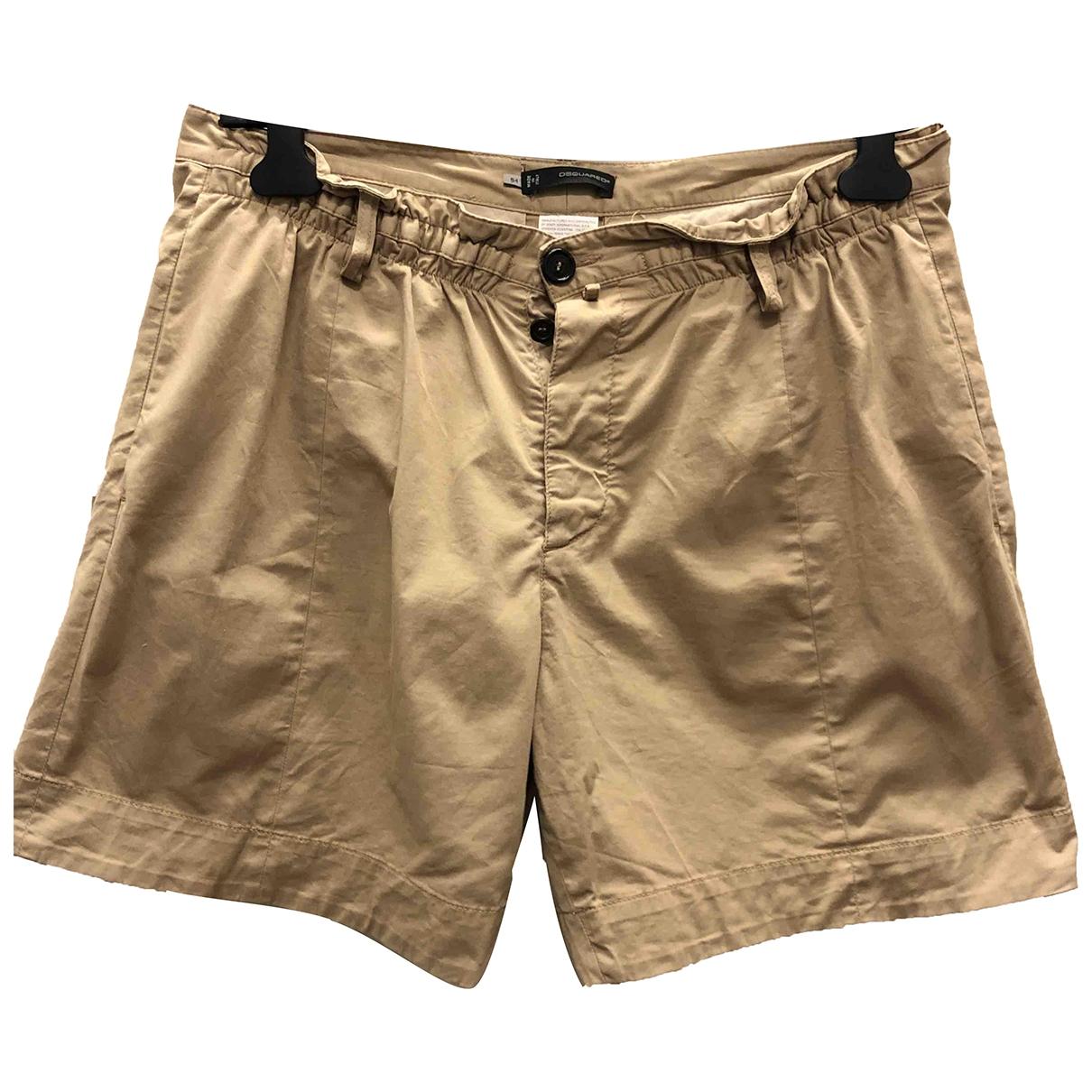 Dsquared2 \N Shorts in  Beige Baumwolle