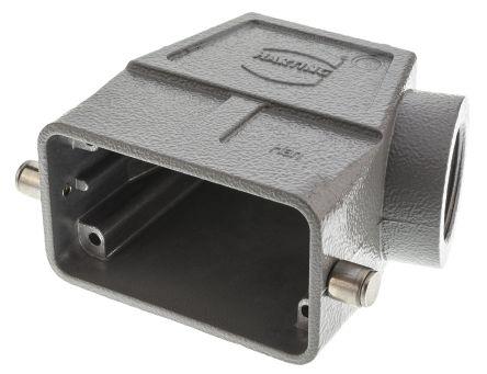 HARTING Han B Series, 10B Side Entry Heavy Duty Power Connector Hood