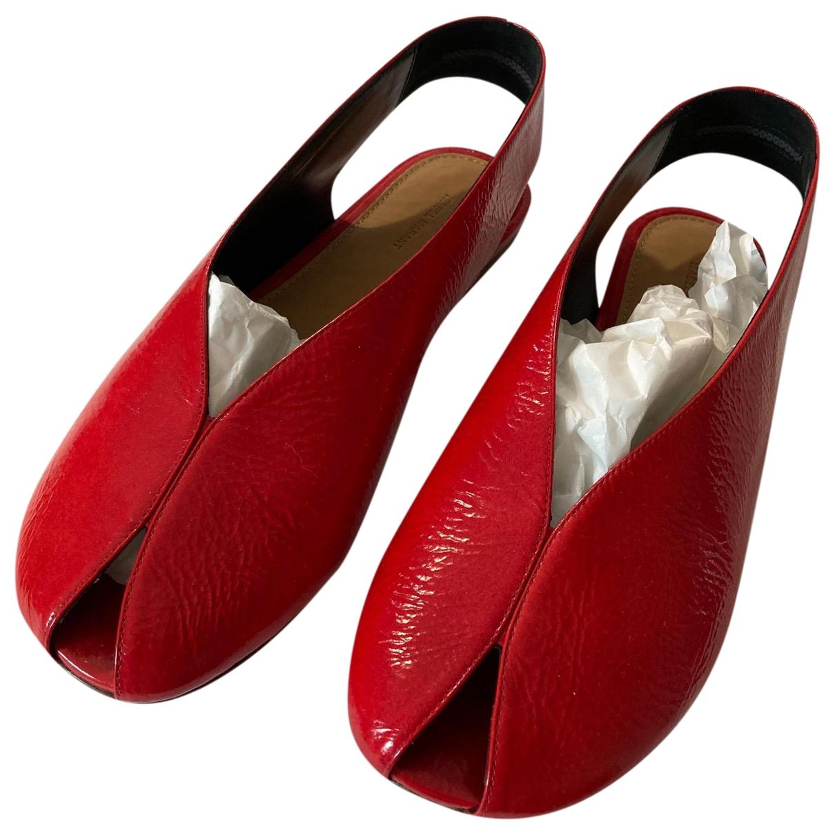 Sandalias de Charol Isabel Marant