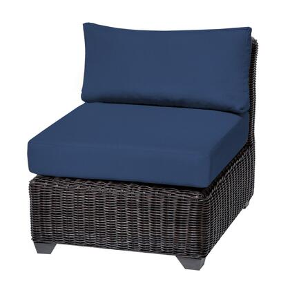 TKC050b-AS-DB-NAVY Venice Armless Sofa 2 Per Box with 2 Covers: Wheat and