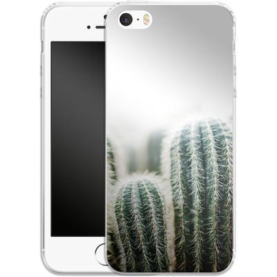 Apple iPhone 5s Silikon Handyhuelle - Cactus 1 von Mareike Bohmer