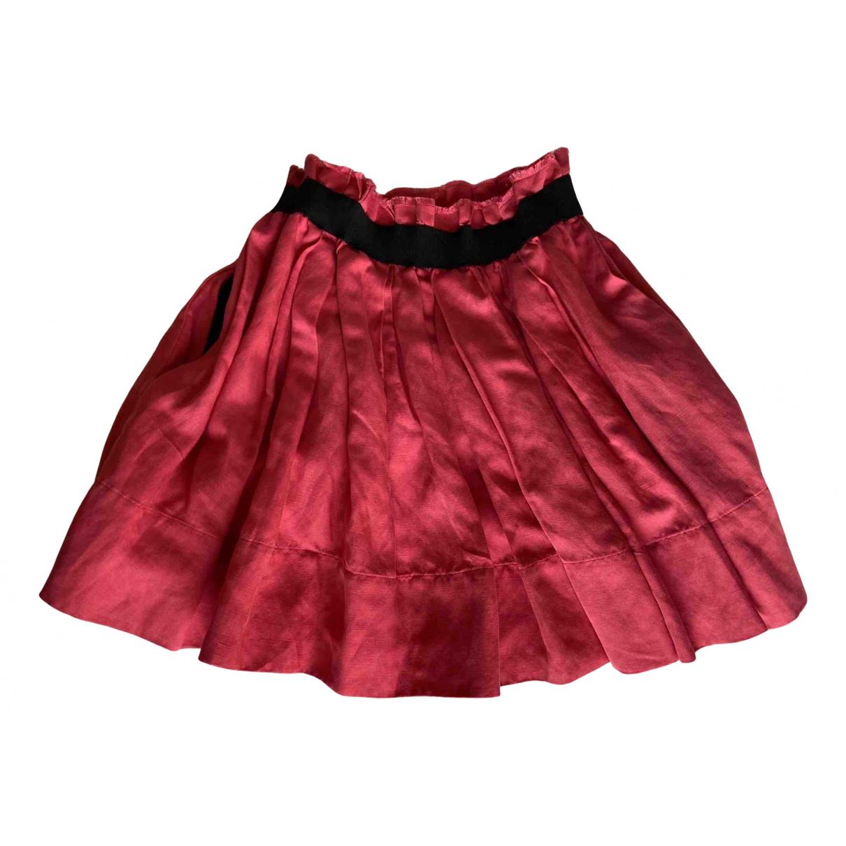 Isabel Marant N Pink Linen skirt for Women XS International