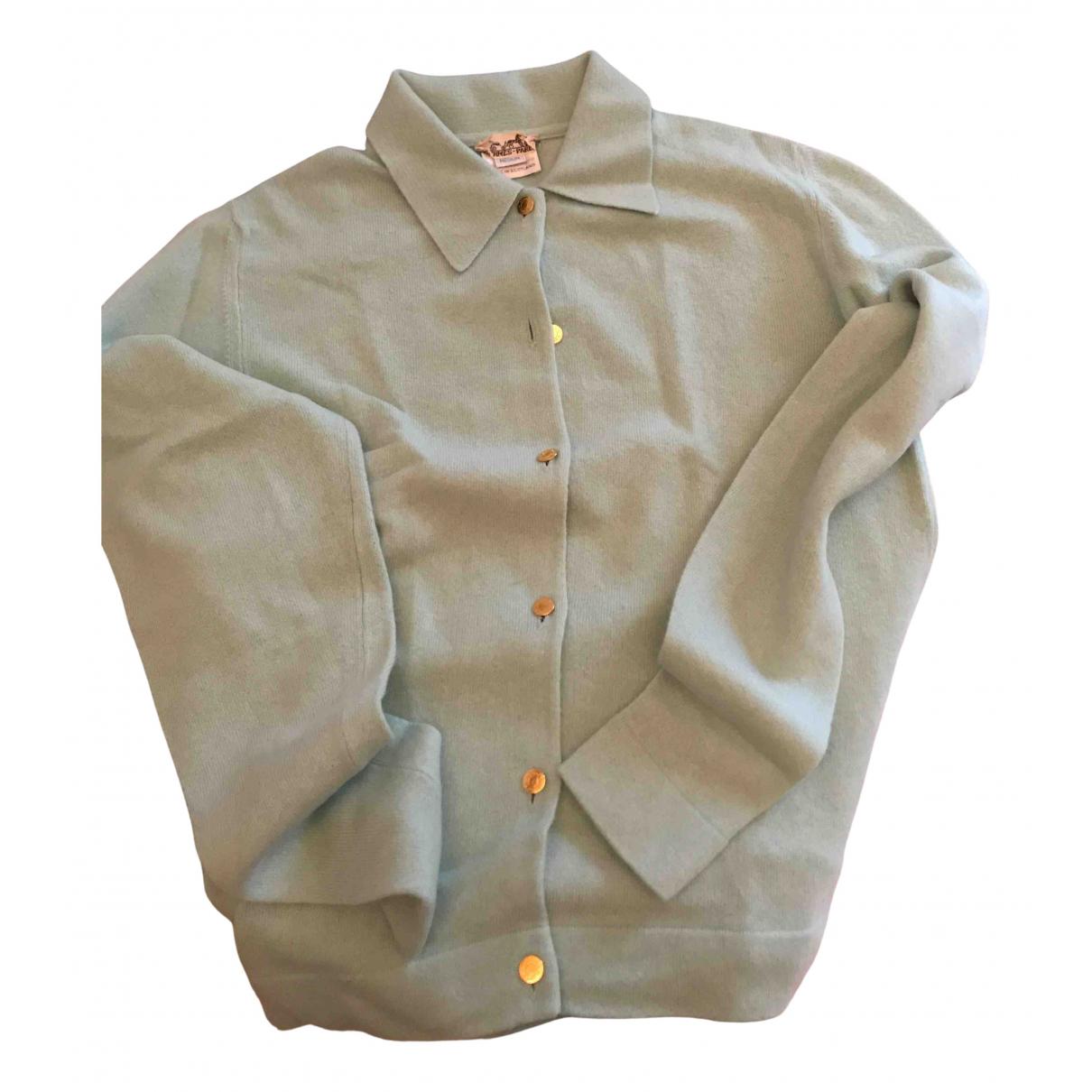 Hermes \N Pullover in  Gruen Kaschmir