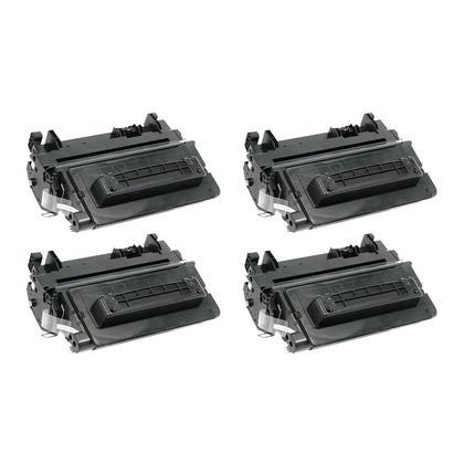 Compatible HP 64A CC364A Black Toner Cartridge - Economical Box - 4/Pack