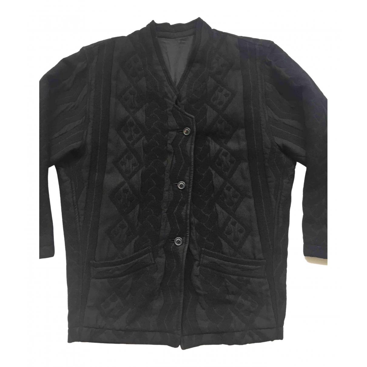 Issey Miyake - Vestes.Blousons   pour homme en laine - noir