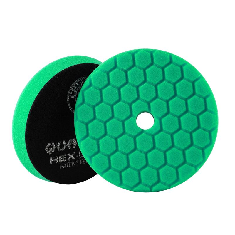 Green Hex-Logic Quantum Car Polishing Pad, 6 Inch, Used For All-In-One Product Application | Chemical Guys