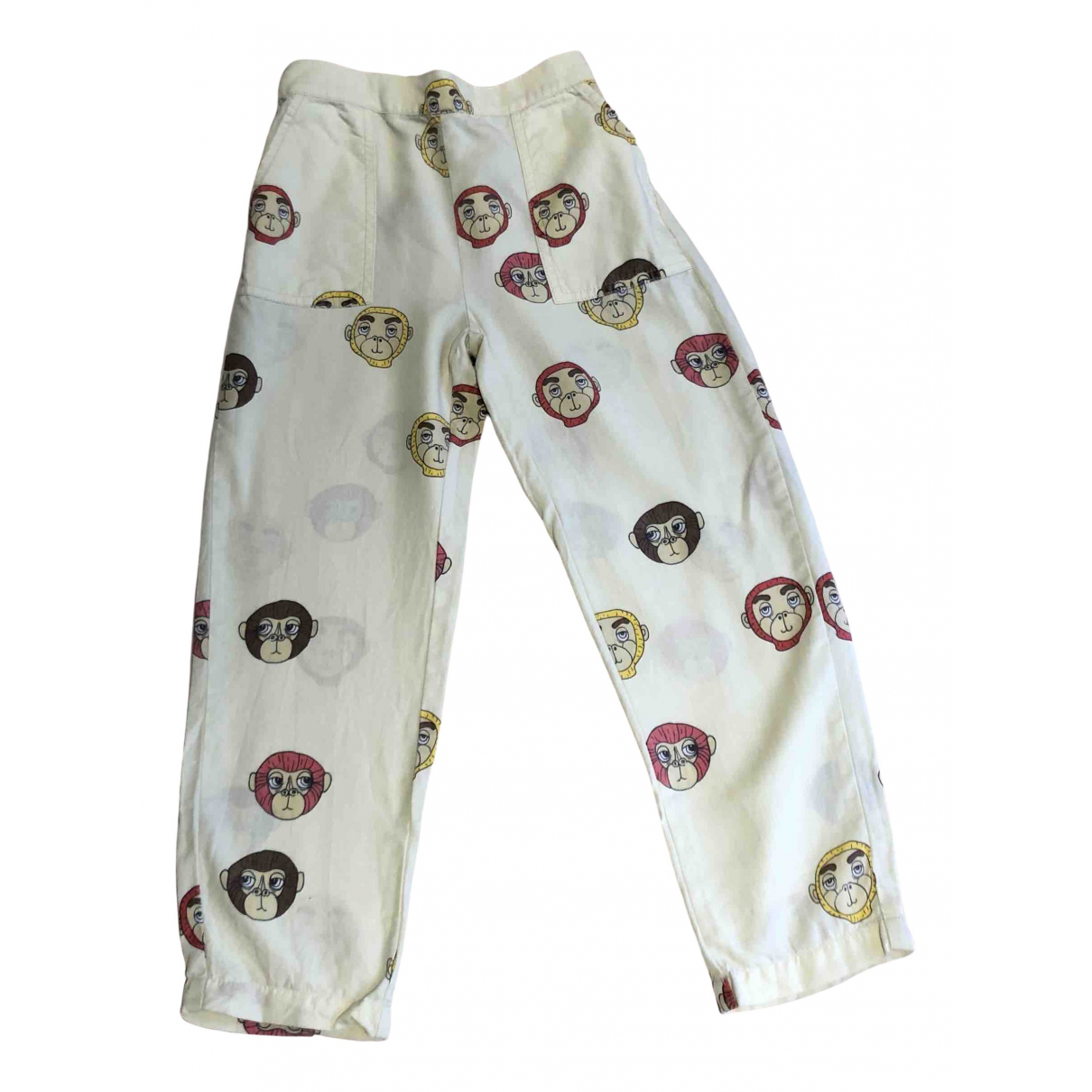 Mini Rodini N Multicolour Cotton Trousers for Kids 6 years - until 45 inches UK