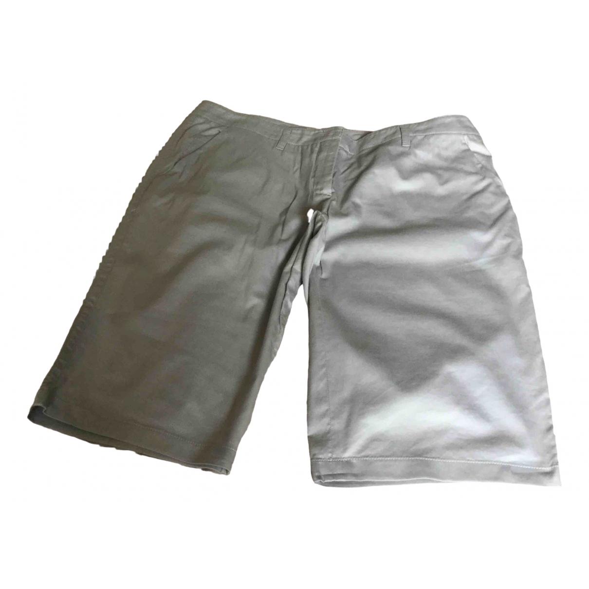 Prada \N Grey Cotton Shorts for Women 46 IT