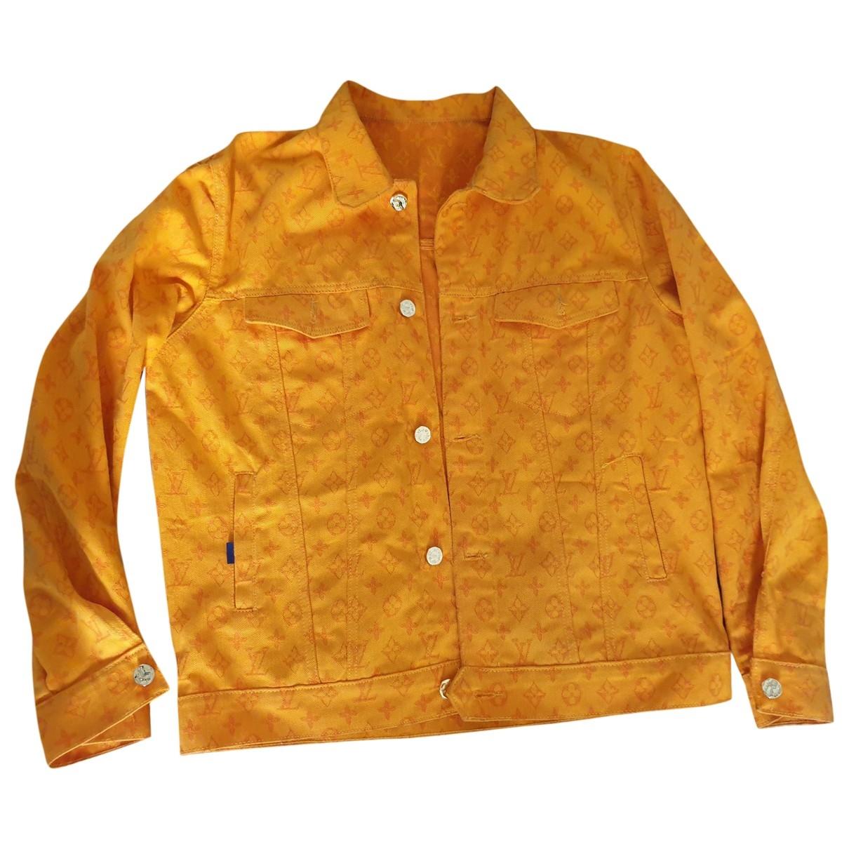 Louis Vuitton \N Orange Denim - Jeans jacket  for Men XXS International