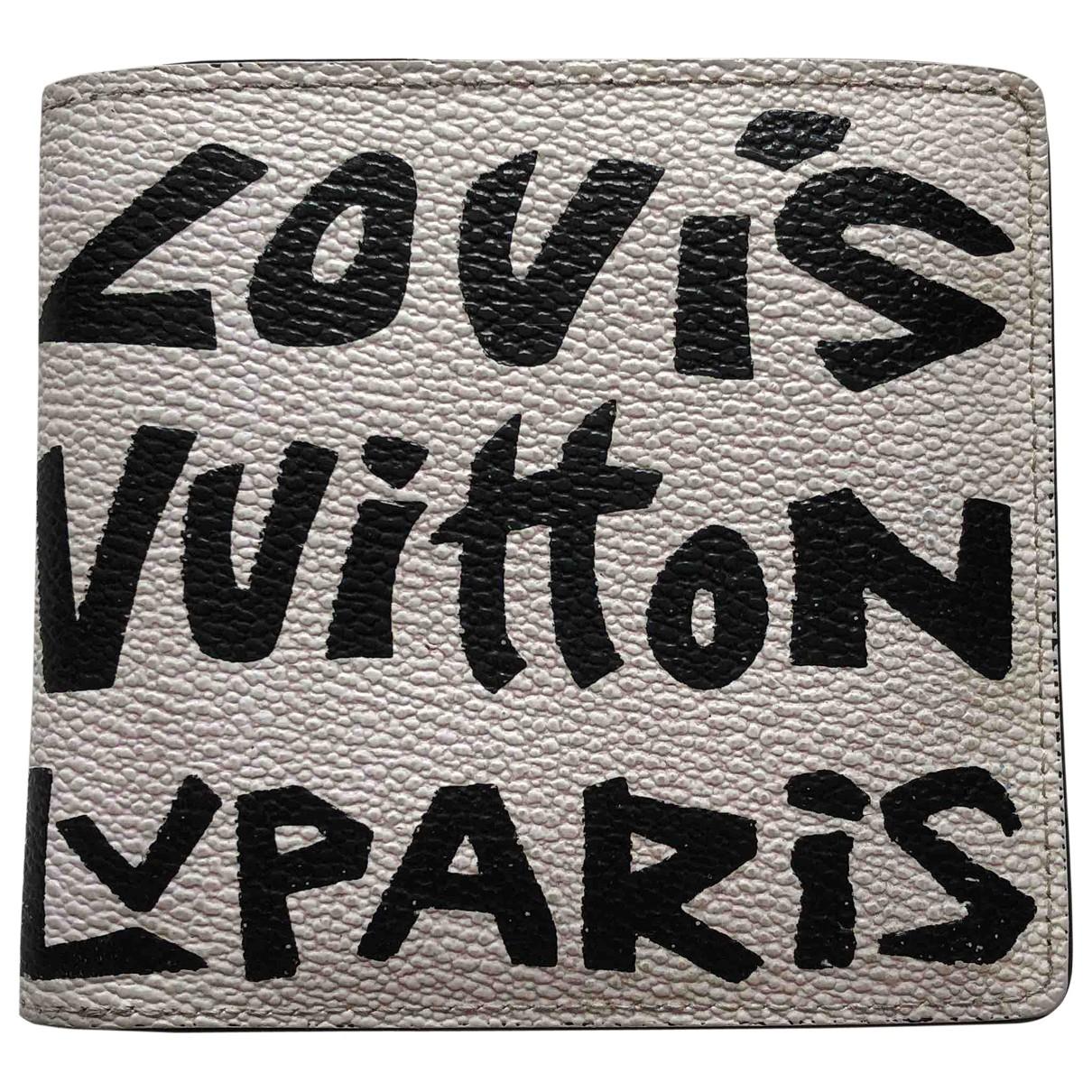 Louis Vuitton \N Ecru Cloth wallet for Women \N
