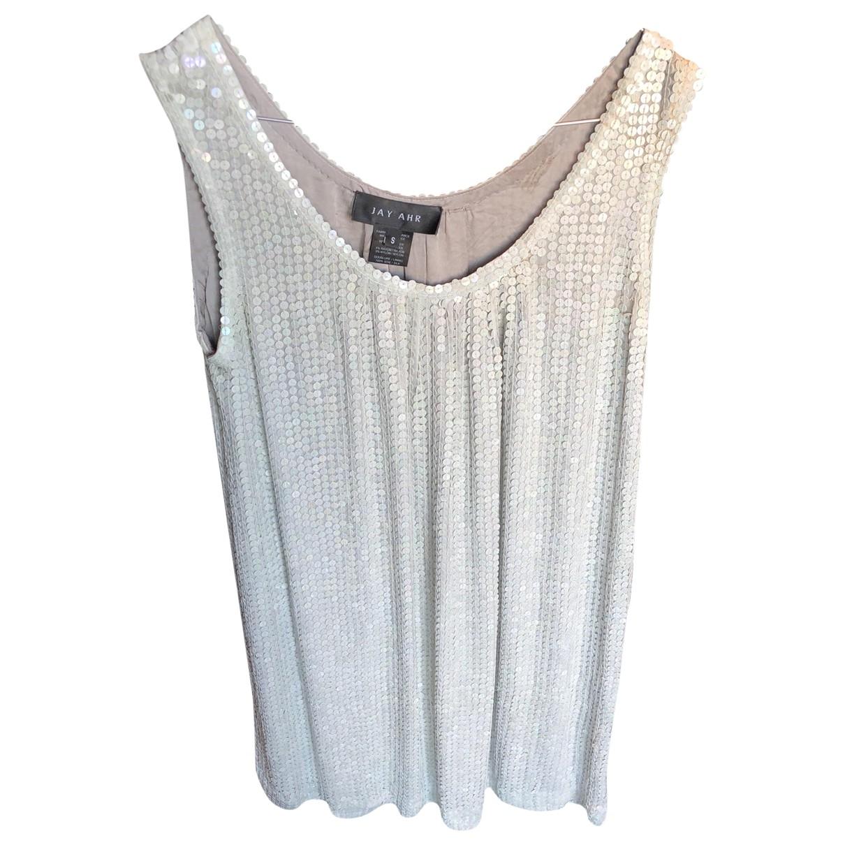 Jay Ahr \N Kleid in  Grau Mit Pailletten